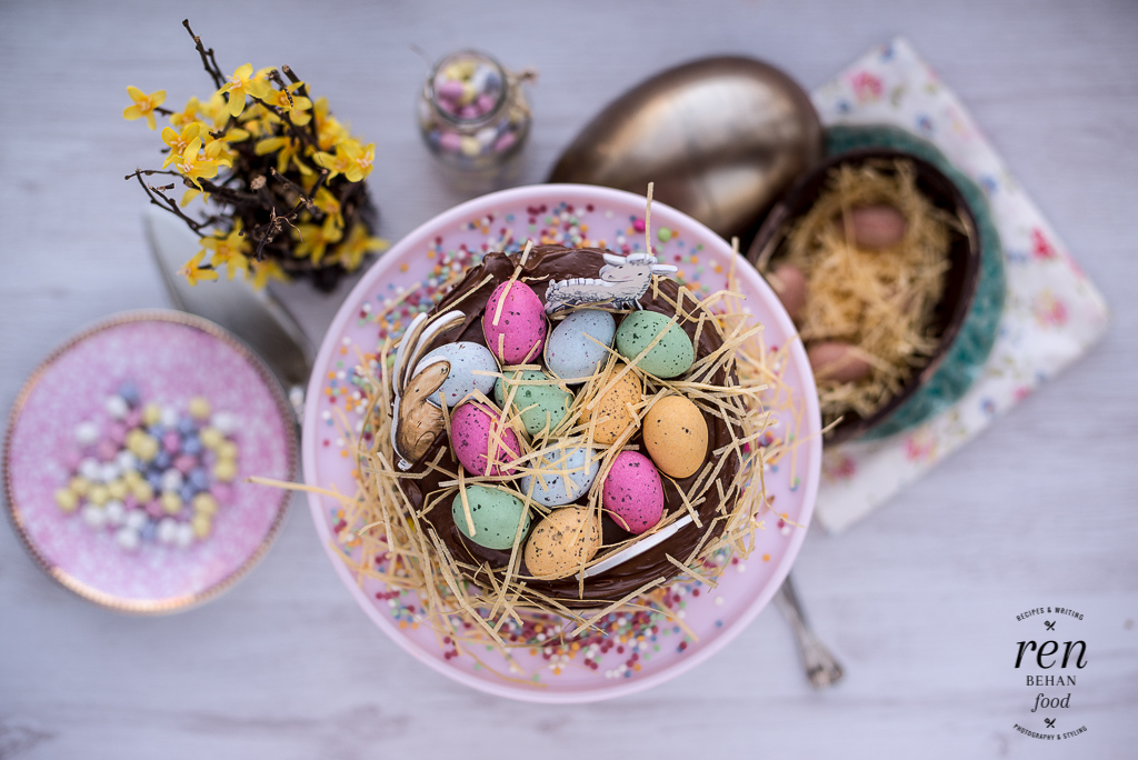 How to be a goodegg this easter with waitrose ren behan author easter chooclate cake negle Image collections