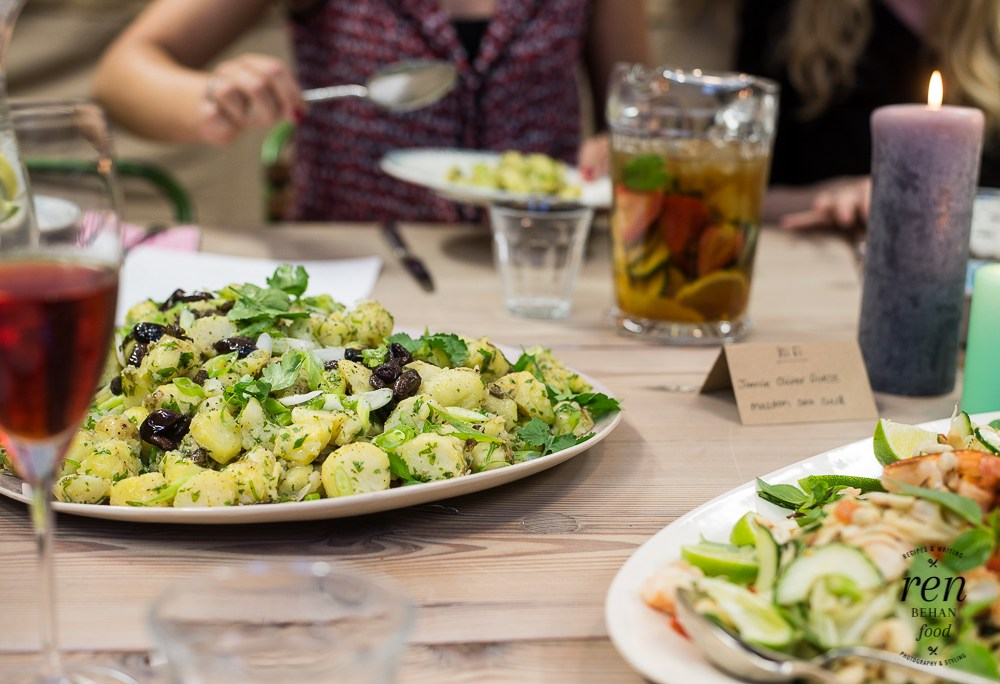 The Ultimate Summer Party + Six new summer salads from Jamie Oliver HQ #summersalads