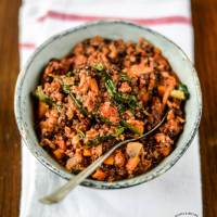 Recipe: Healthy Beef Ragù with Puy Lentils and Spinach