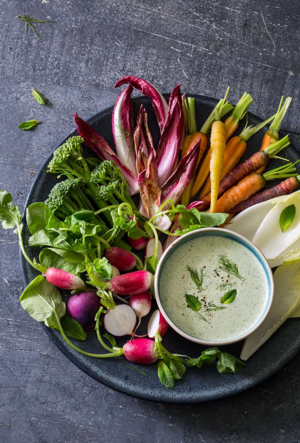 Vitamix feta and yoghurt dip {Great British Chefs}