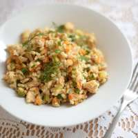 3 Grains (Rice, Spelt and Barley) with Chicken and Dill