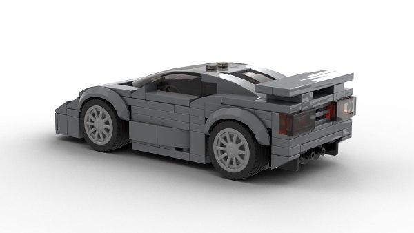 LEGO Bugatti EB 110 Super Sport Model Rear View