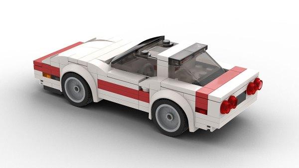 LEGO Chevrolet Corvette C4 Targa Top Model Rear View