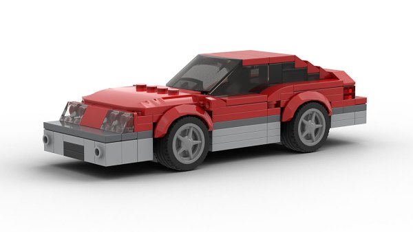 LEGO Ford Mustang FOX two tone model