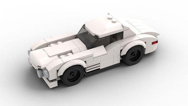 LEGO Vintage Mercedes 300SL Race car model