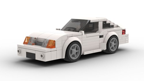 LEGO Ford Mustang FOX Modified model