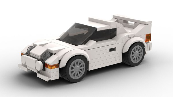 LEGO Ford RS200 Model