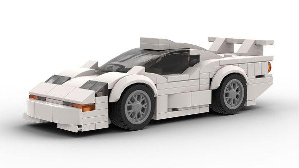 LEGO McLaren F1 GTR Longtail Model