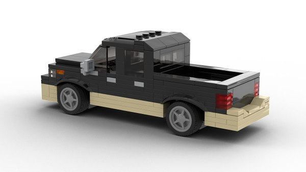 LEGO Dodge Ram 1500 Model Rear View