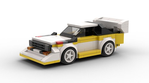 LEGO Audi Rally Car
