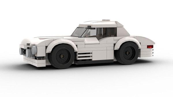 LEGO Mercedes 300SL Race car model