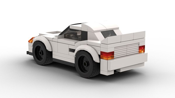 LEGO Toyota 222D model rear view