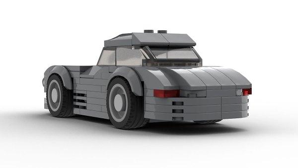 Mercedes 300SL LEGO Model Rear View