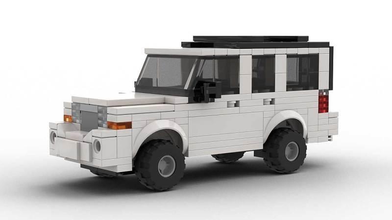 LEGO Jeep Commander model