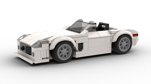 LEGO LEGO Mercedes-Benz SLS AMG Roadster Model