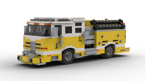 LEGO Pierce Dash Pumper model
