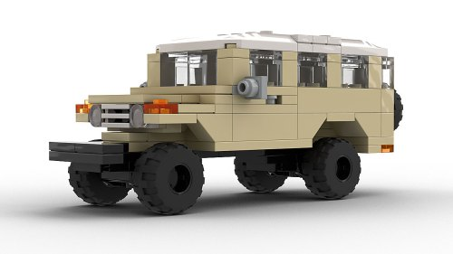 LEGO Toyota FJ45 Troopy model