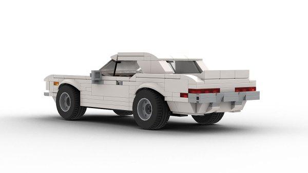 LEGO Chevrolet Camaro RS 1969 model rear view