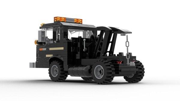 LEGO Ford C Series Wrecker Model Rear View