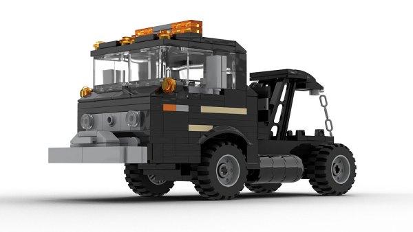LEGO Ford C Series Wrecker model