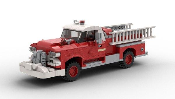 LEGO GMC Fire Truck 1958 model