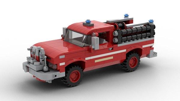 LEGO GMC Rescue Pickup Truck 1966 model