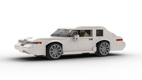 LEGO Lincoln Mark VIII model