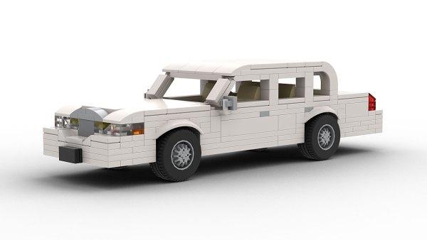 LEGO Lincoln Town Car 98 model