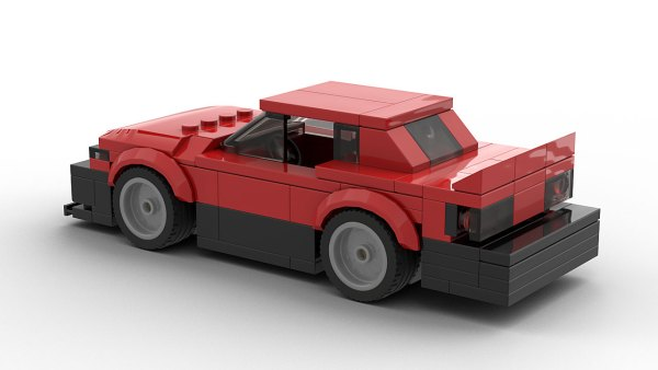 LEGO Nissan Skyline R30 Model Rear View