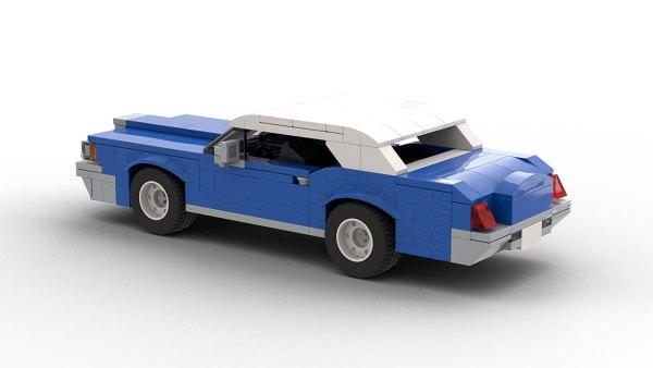 LEGO Lincoln Continental Mark III model
