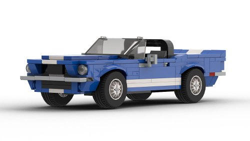 LEGO Ford Shelby GT500 KR Convertible model