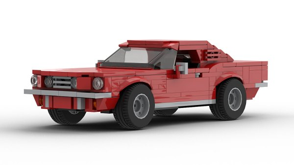 LEGO Ford Mustang GT Fastback 1966 model