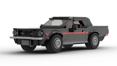 LEGO Ford Mustang High Country Special 68 model