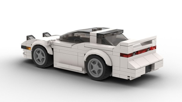 LEGO Mitsubishi 3000GT model rear view