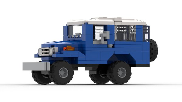 LEGO Toyota Land Cruiser FJ40 model 2