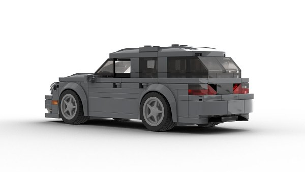 LEGO Mercedes Benz E55 AMG Wagon model rear view