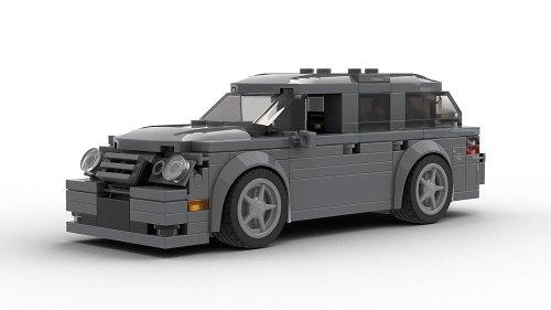 LEGO Mercedes Benz E55 AMG Wagon model