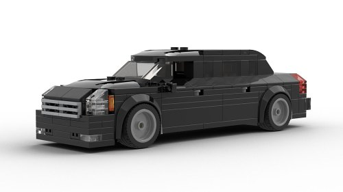 LEGO Cadillac US President Limo The Beast model