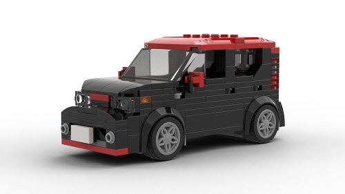 LEGO Kia Soul 2018 model