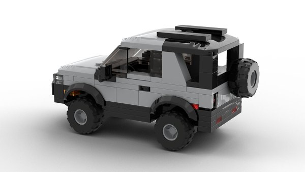 LEGO Land Rover Freelander 98 3-door model rear view