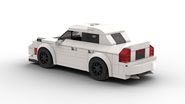 LEGO Cadillac CTS-V Sedan 2018 rear view model