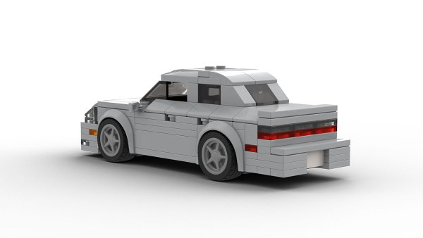 LEGO Cadillac Catera model rear view