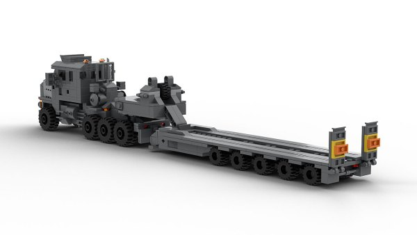 LEGO Oshkosh M1070 model rear view