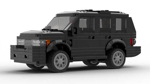 LEGO Range Rover Vogue model