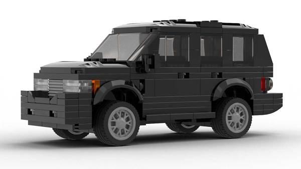 LEGO Range Rover Vogue model