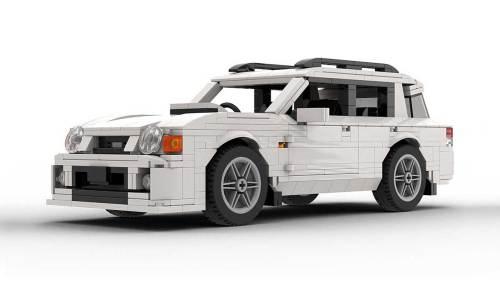 LEGO Subaru Impreza 01 Wagon model