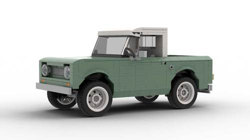 LEGO International Scout 80 model