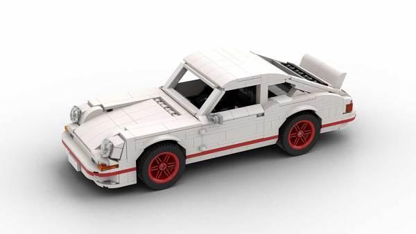 LEGO Porsche 911 Carrera RS model top view