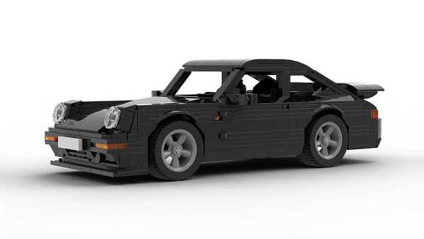 LEGO Porsche 993 Turbo S model