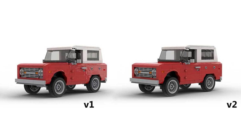 Image of LEGO Ford Bronco Models